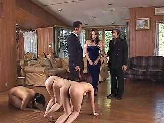 Submissive Japanese Slave Milfs Used Outdoors And Fucked Hard